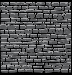 Gray stone wall abstract background vector