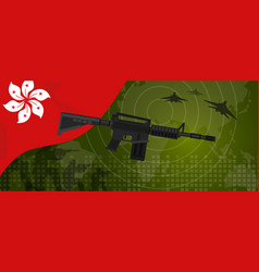 hongkong modern warfare world map country army vector image