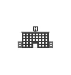 hospital icon hospital icon vector image