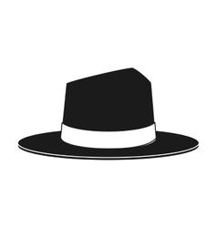 Isolated hat cloth design vector