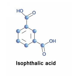 Isophthalic acid co-monomer for resins vector