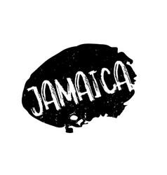 Jamaica rubber stamp vector