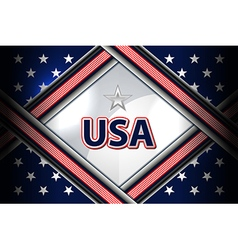 usa flag backgrounds style vector image