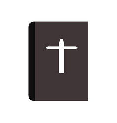 bible icon vector image vector image