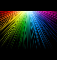 bright multicolor rays vector image