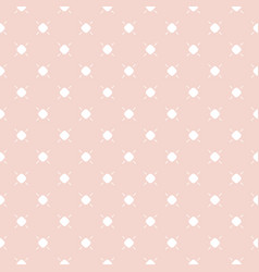 Cute vintage seamless pattern in pastel colors vector