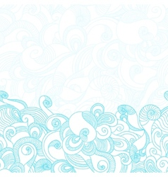 Wave Texture Background vector image vector image
