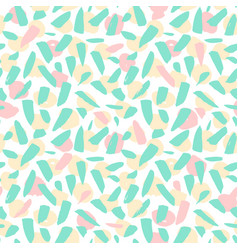 hipster blots seamless pattern vector image
