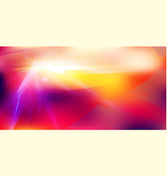 Abstract futuristic lighting effect on red color vector