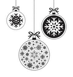 black ball balls background vector image