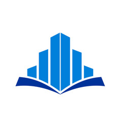 building education concept logo icon vector image