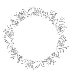 christmas decorative simple greeting card vector image