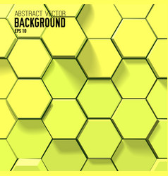 geometric abstract bright background vector image