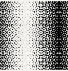 seamless monochrome chaotic star pattern vector image