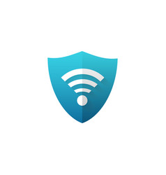 Secure ssl wi fi icon vector