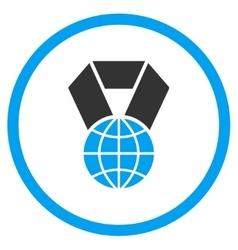 World award icon vector