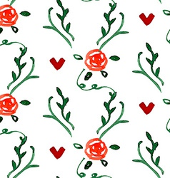 Stylish Floral Card vector image vector image