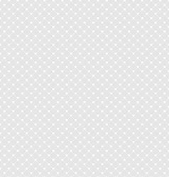 White Polka Dot Seamless Pattern Background vector image
