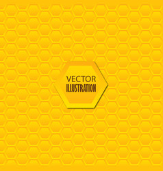 comb pattern hexagon honeycomb seamless background vector image