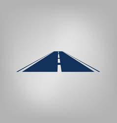 road icon vector image