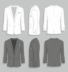 Men s suit vector image