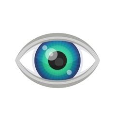 Blue Eye Icon vector image vector image