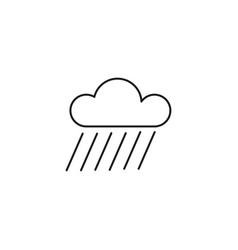 shower rain icon vector image