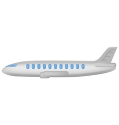 Airplane vector image