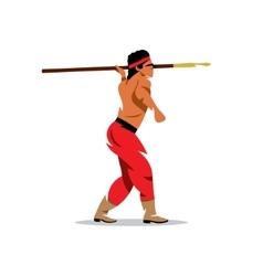 Injun Cartoon vector image