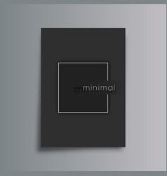 minimal design gradient background for flyer vector image