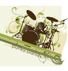 Urban music graphic vector