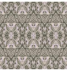 Vintage damask seamless pattern background vector