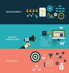 bussines concept vector image vector image