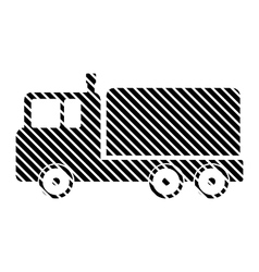 Cargo car sign vector image vector image