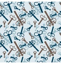 old vintage keys vector image