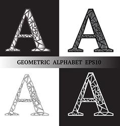A geometric alphabet vector