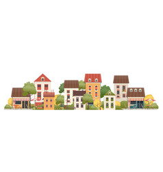 a small two-story house vector image