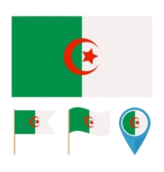 Algeriacountry flag vector