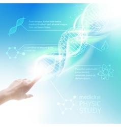 Biochemistry infographics vector