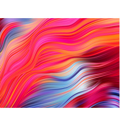 Bright abstract background with colorful swirl vector