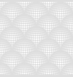 Geometric abstract pattern with 3d spherical vector