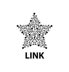 logo link vector image