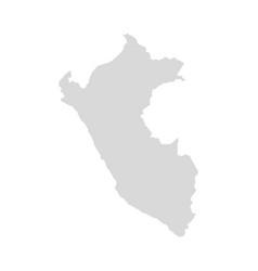 Peru country map machu picchu america vector