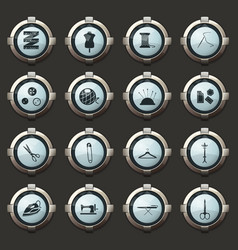 tailoring icons for user interface design vector image