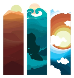 Nature Layers vector image vector image