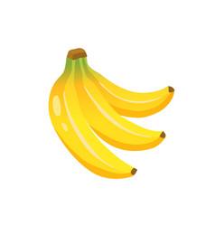 banana icon vector image