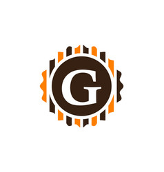 Best quality letter g vector