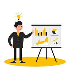Business people presentation vector