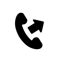 Call answer symbol vector