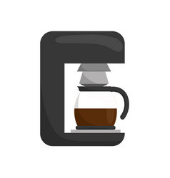 coffee drink machine vector image